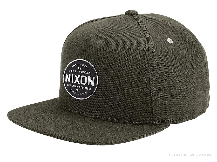 2f09a104cd9 NIXON Lazaro 110 Snapback Hat - hats - Sport Delivery shop
